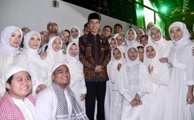 Pilpres 2019, Ternyata Jokowi Masih Jadi Favorit Umat Islam