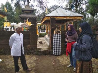 Prihatin dengan Kondisi Danau, Mahasiswa UM Meneliti Kearifan Lokal Suku Tengger