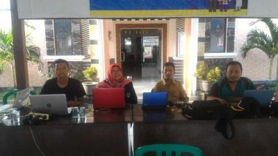 Mahasiswa KKN UM bersama Pemerintah Desa Karangmojo Melakukan Pengembangan Sistem Informasi dan Website Desa