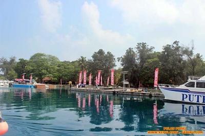 Pulau Putri Wisata Pantai dan Pasir Putih di Kepulauan Seribu