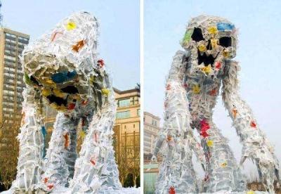 Bernafas dengan Oksigen, Bukan dengan Sampah Plastik!