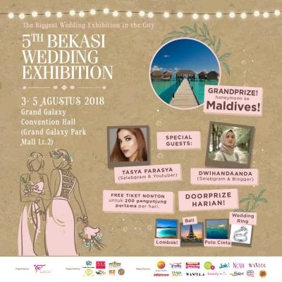 "Bekasi ""Wedding Exhibition"" ke-5 Siap Digelar"