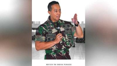 Langkah Jokowi di TNI, Andika Perkasa Menuju KSAD