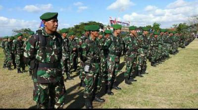 150 Anggota TNI Terlibat TTMD 102 Tahun di Lombok Timur