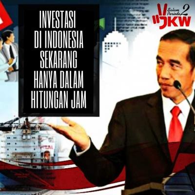 Reformasi Perizinan Investasi Pangkas 124 Izin Hanya 3 Jam