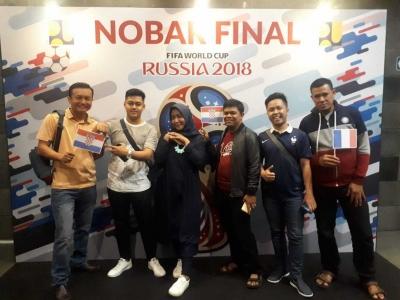 Gempita Piala Dunia 2018 di Kementerian PUPR