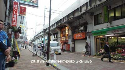 Ruang Publik Unik di Kolong Jembatan Layang Kereta dari Akihabara sampai Ameyoko Market