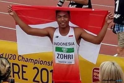 Lalu Muhammad Zohri, Sebelum Juara Dianggap Angin Lalu