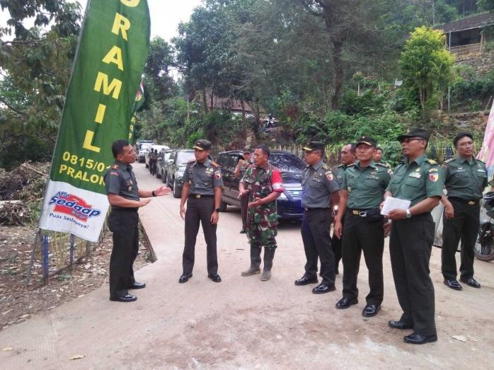 Danrem 082/CPYJ Tinjau Lokasi TMMD Desa Jembul, Mojokerto