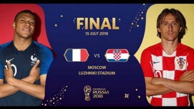 Prancis vs Kroasia, Laga Pamungkas Mewakili Momen Unik Piala Dunia 2018