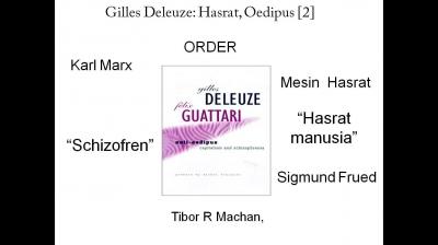 Deleuze: Hasrat, Oedipus (2)