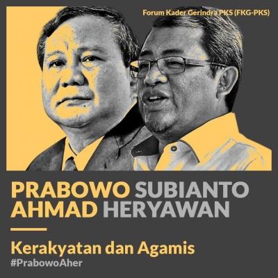 Duet Prabowo-Aher di Pilpres 2019 Lebih Kongkret