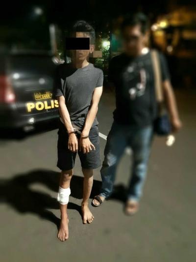 Melawan Petugas, Pelaku Jambret di Kebon Jeruk Dihadiahi Timah Panas