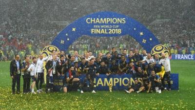 Perancis Juara, Kroasia Juara