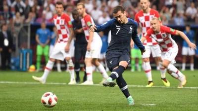 Catatan Akhir Piala Dunia, Penalti Griezmann Membuyarkan Mimpi Kroasia