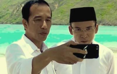 Kratologi TGB Dukung Jokowi