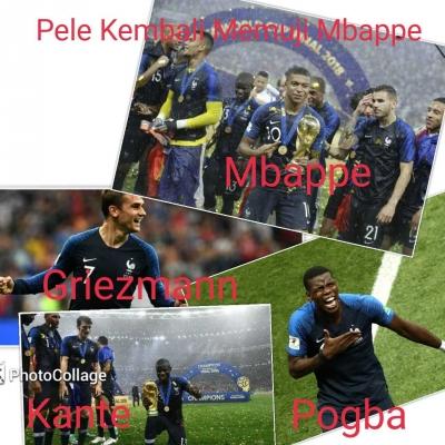 Pele Kembali Memuji Mbappe
