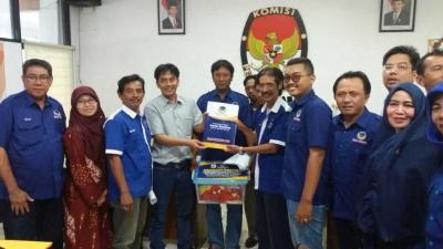Resmi Mendaftar, NasDem Surabaya Target Minimal Peroleh 7 Kursi