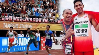 Virus Zohri Merambah ke Asian Games 2018