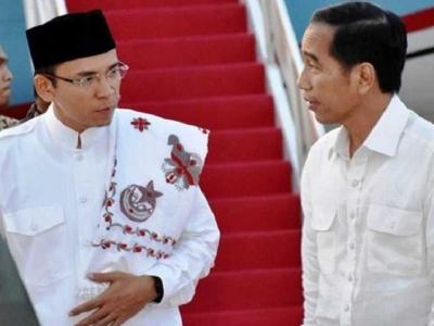 Basis Suara di NTB Kecil, Berat bagi Jokowi Pilih TGB sebagai Cawapres