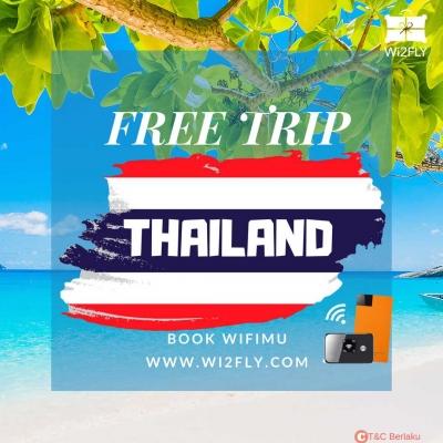 Book Wifimu, Free Trip Thailand dari Wi2fly