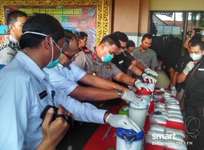 Usulkan Hukum Mati Pengedar, Kapolda: Kalimantan Selatan Sasaran Empuk Para Bandar