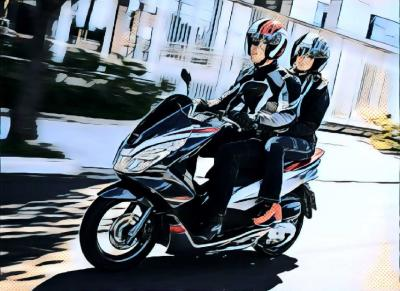 Honda All New PCX Hybrid, Kenyamanan dan Sensasi Kesenangan Berkendara