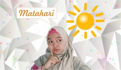 Matahari sama dengan Surya