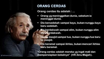 Orang Cerdas itu Visioner