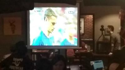 "Nobar Final di ""FIFA Fan Fest"" Warunk ""UpNormal"""