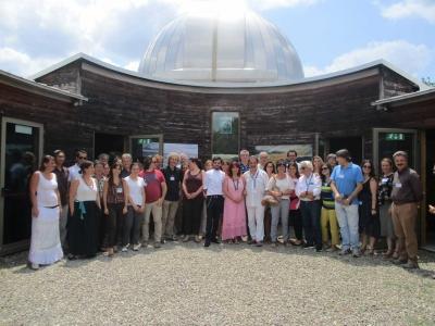 Skyworld Indonesia Diskusi Bareng Astronom Dunia dalam Seminar Internasional di Italia