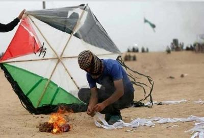 Israel Takut pada Layangan dan Balon Udara Palestina