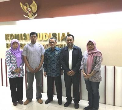 Komisi Yudisial Dorong Perjuangan Persaudaraan Dosen Republik Indonesia (PDRI)