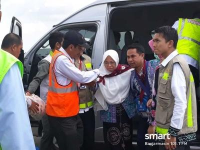 2 Calon Jamaah Haji dari Banjarmasin Gagal Berangkat