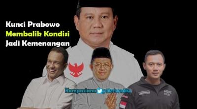 Apa Kunci Prabowo Bisa Balik Kondisi Jadi Kemenangan Lawan Jokowi?