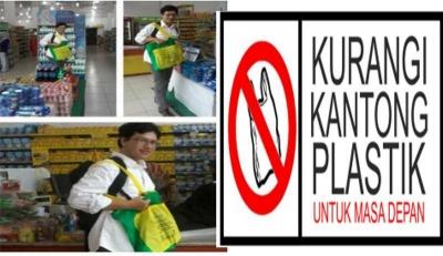 Yuk! Kurangi Kantong Plastik Untuk Masa Depan