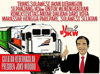 Proyek Kereta Api Trans-Sulawesi Wujudkan Pemerataan Pembangunan di Indonesia Timur