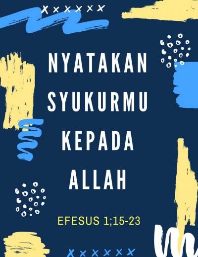 Khotbah Efesus 1:15-23