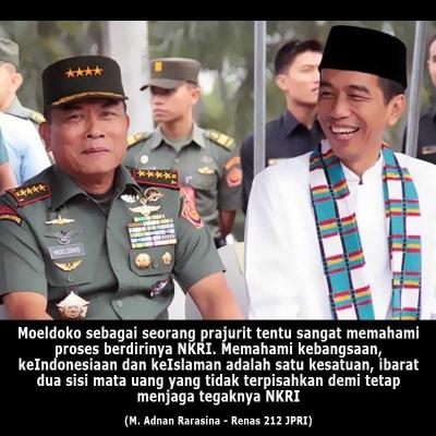 Moeldoko Figur Tepat Pendamping Jokowi