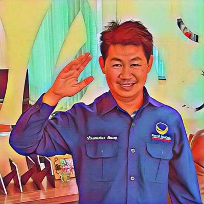 Maju Caleg DPR RI, Awey: Politik itu Pengabdian Bukan Mata Pencaharian