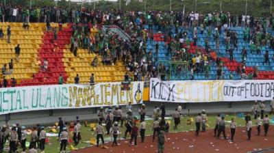 Menyoal Aksi Anarkis Oknum Suporter Sriwijaya FC