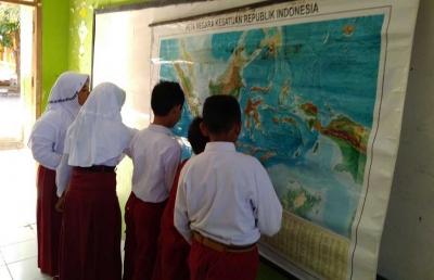 Materi Reguler Pemahaman Lokasi Melalui Peta