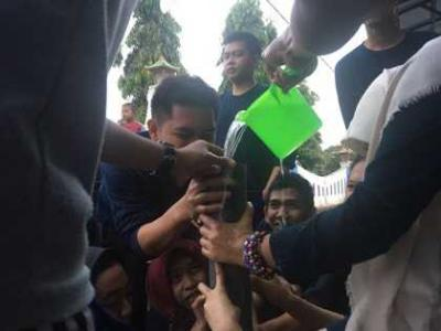 Ajang Silaturahmi, Mahasiswa KKN Adakan Lomba Bersama Karang Taruna