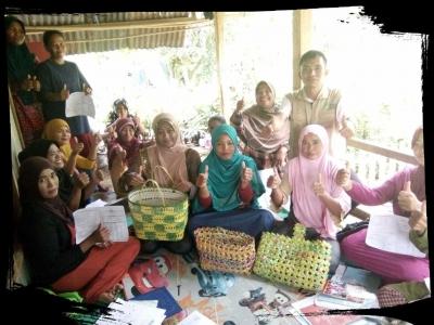 Kreatif, KPM PKH Sulap Sampah Jadi Berkah
