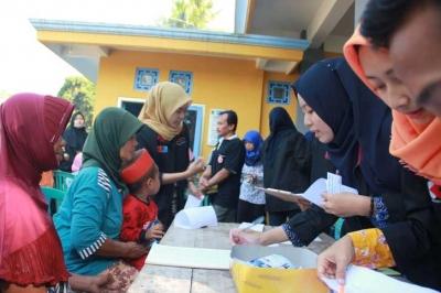 Program Pengobatan Gratis Pertama di Dusun Kedawung Sukses Menarik Antusias Warga