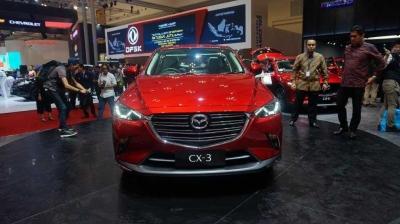 Curi-curi Pandang New Mazda CX-3 di GIIAS 2018