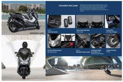 Mengenal Honda Forza 250 yang Kian Mengancam Eksistensi Yamaha Xmax