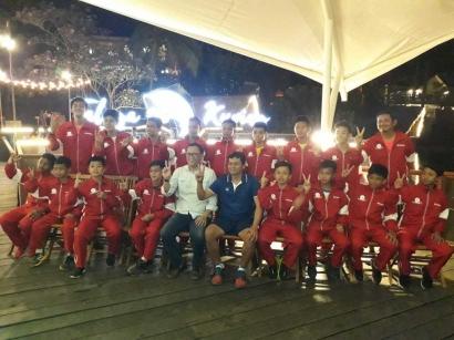 Selamat Berjuang di Gothia Cup China Tim U-12 IJSL