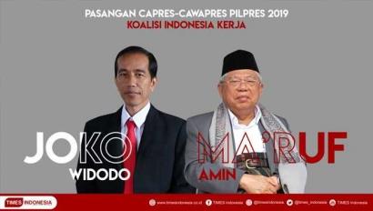 Jokowi-Ma'ruf Amin, Sebuah Perjudian Politik?