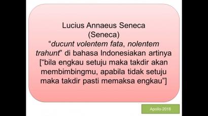 Episteme Seneca, Pergantian Nama Calon Wakil Presiden